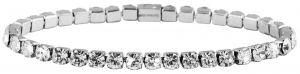 Edelstahl Armband Panzerkette 18 cm + 5 cm  Akzent Armband