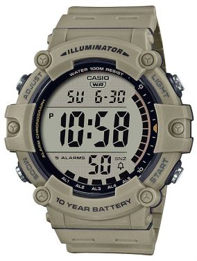 Casio Collection Armbanduhr AE-1500WH-5AVEF Digital Uhr