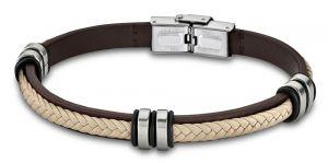 Marc Marquez Lotus Style Armband LS1563-2/2 Edelstahl Kautschuk