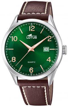 Herrenuhr Lotus Armbanduhr 15961/1 Herren Uhr Lederarmband