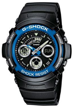 Casio Uhr G Shock AW-591-2AER Blue Devil