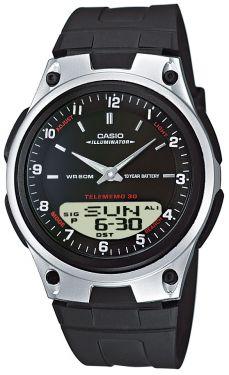 Casio Uhr AW-80-1AVES Ana-Digi-Uhr Resin-Armband