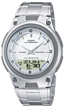Casio Uhr AW-80D-7AVES Casio Collection Uhr Edelstahl- Armband