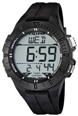Calypso by Festina Uhr Digital Herrenuhr K5607/6 schwarz Digitaluhr