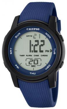 Calypso Digitaluhr by Festina K5698/3 Armbanduhr rot schwarz