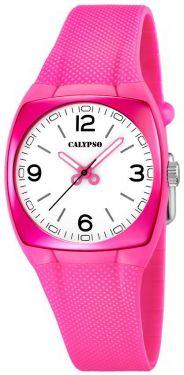 Calypso by Festina Uhr K5236/7 pink weiß analog Armbanduhr Damenuhr