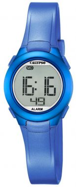 Calypso Jugenduhr Armbanduhr Digitaluhr K5677/5 blau
