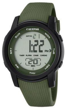 Calypso Digitaluhr by Festina K5698/4 Armbanduhr grün schwarz