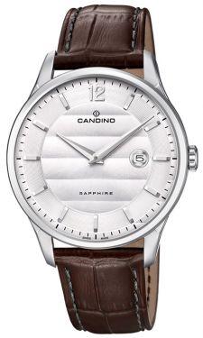 Candino Herren Armbanduhr C4539/1 Saphirglas Datum Edelstahl