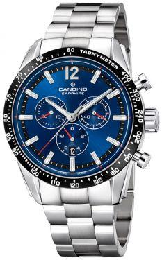 Candino Sport Herren-Uhr Chronograph C4429/A silber Edelstahl