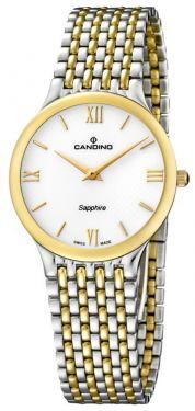Candino Uhr Classic Herrenuhr Superflach C4414/1 Saphirglas