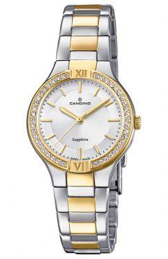 Candino Damen Uhr C4492/5 Edelstahl Armbanduhr Saphirglas Datum