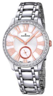 Candino Damen Armbanduhr C4595/1 Saphirglas Edelstahlband