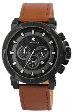 Carucci Automatikuhr Herrenuhr CA2211RD-BK Uhr Armbanduhr Imola II