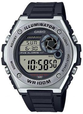 Casio Sportuhr SGW-450HD-1BER Outdoor Armbanduhr Edelstahlband