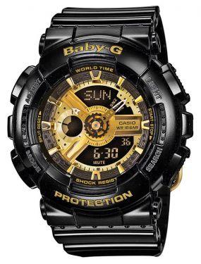 Casio Baby-G Uhr BA-110-1AER G-Shock Look schwarz
