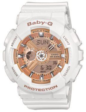 Casio Baby-G Uhr BA-110-7A1ER G-Shock Look weiß Damenuhr