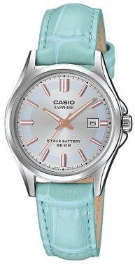 Casio Uhr Damenuhr LTP-1310PD-7BVEF weiss Armbanduhr weiss