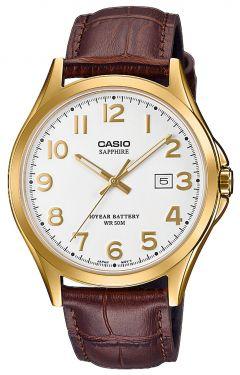 Casio Uhr Herrenuhr MTP-1310PD-7BVEF weiss Armbanduhr