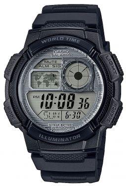 Casio Uhr AE-1000W-1AVEF Digital Uhr schwarz