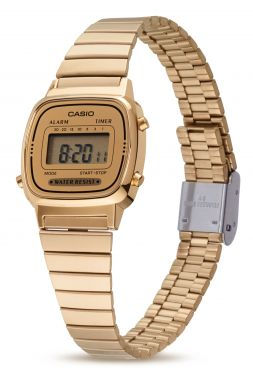 Casio Retro Uhr Damenuhr LA670WEGA-9EF Gold