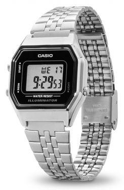 Casio Retro Uhr Damenuhr LA680WEA-1EF Alarm Digital Armbanduhr