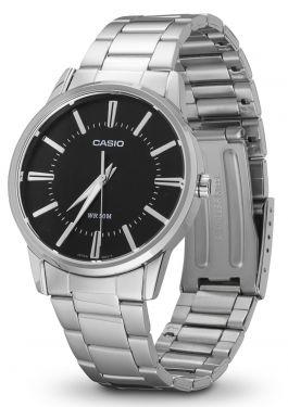 Casio Uhr Herrenuhr MTP-1303PD-1AVEF schwarz Armbanduhr