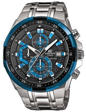 Casio Edifice Uhr Massive Edelstahl EF-547D-1A1VEF schwarz