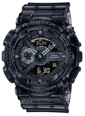 Casio Uhr G-Shock Uhr GA-110SKE-8AER schwarz transparent