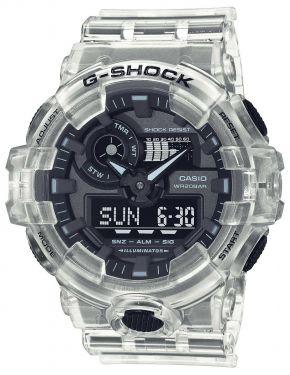 Casio G-Shock Uhr GA-700SKE-7AER Armbanduhr transparent