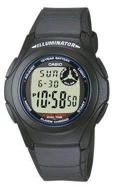Casio Uhr F-201WA-1AEF Casio Collection Digital-Uhr