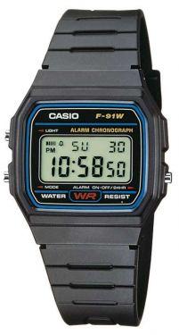 F-91W-1YEF Casio Collection Uhr