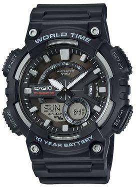 Casio Digital Armbanduhr AE-2100WD-1AVEF Edelstahlarmband