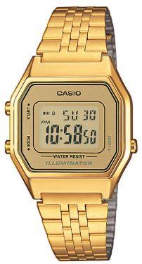 Casio Damenuhr Retro Uhr Armbanduhr LA680WEGA-9ER Digitaluhr