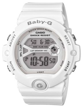 Casio Damenuhr Baby-G Uhr BG-6903-7BER weiß Digitaluhr