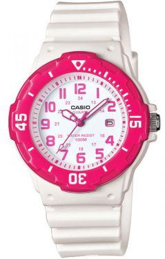 Casio Uhr Damenuhr LRW-200H-4BVEF weiß pink Datumsanzeige