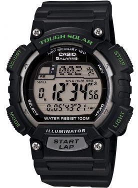 Casio Uhr Solar-Digitaluhr STL-S100H-1AVEF Digital Uhr schwarz
