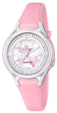 Damenuhr Calypso by Festina Uhr K5575/2 rosa Strass Armbanduhr