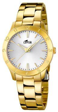 Damenuhr Lotus Armbanduhr Edelstahl PVD gold silber 18140/1