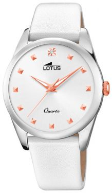 Damenuhr Lotus Trendy Armbanduhr Edelstahlband 18142/1