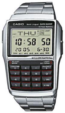 Casio Uhr DBC-32D-1AES Casio Collection Uhr Taschenrechner silber