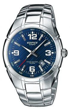 Casio Uhr Edifice EF-125D-2AVEF Herrenuhr Edelstahl