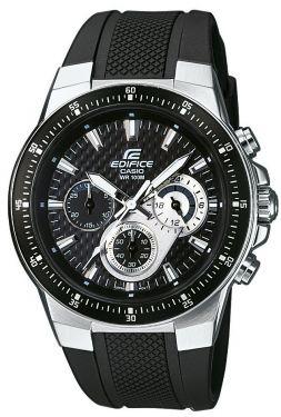 Casio Edifice Uhr EF-552-1AVEF Edelstahl Resin Herrenuhr