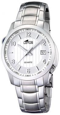 Lotus Armbanduhr Herrenuhr 15031/2 Edelstahlarmbanduhr silber