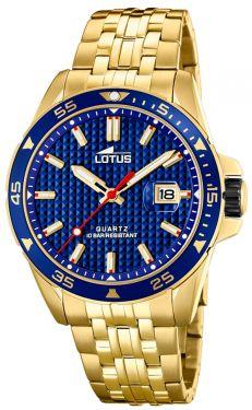 Lotus Herren Armbanduhr Chronograph Edelstahlband 10125/1