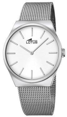 Lotus Armbanduhr Herrenuhr 15031/1 Edelstahlarmbanduhr silber