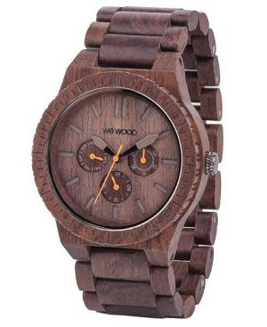 Wewood Holzuhr Kappa Chocolate Armbanduhr WW15003 Chrono