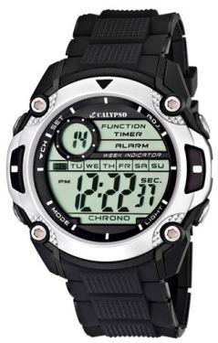 Calypso by Festina Digital Herren Uhr K5573/2 schwarz Digitaluhr