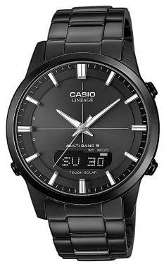 Casio Funkuhr Funk-Solar Uhr Herrenarmbanduhr LCW-M170DB-1AER schwarz