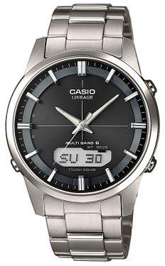 Casio Funkuhr Titan LCW-M170TD-1AER Funk-Solar Uhr Herrenarmbanduhr